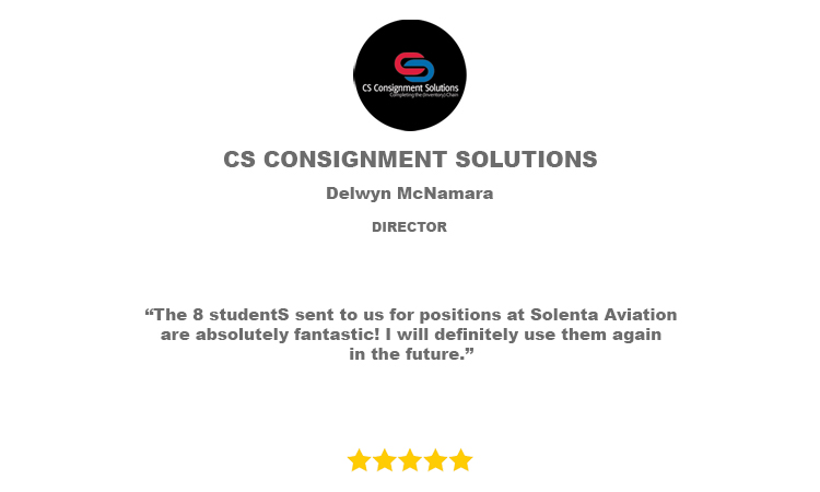 CS Consignment Solutions Reference