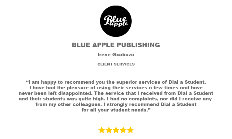 Blue Apple Recommendation